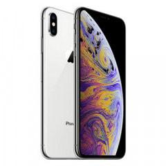 【SIMロック解除済】【ネットワーク利用制限▲】SoftBank iPhoneXS Max A2102 (MT6R2J/A) 64GB  シルバー