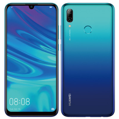 イオシス|【ネットワーク利用制限▲】HUAWEI nova lite 3 POT-LX2J Aurora Blue【UQ版 SIMフリー】