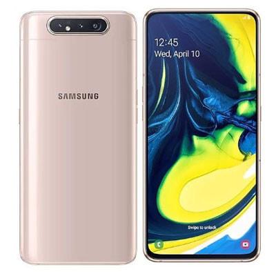 イオシス|Samsung Galaxy A80 Dual-SIM SM-A8050 【8GB 128GB Angel Gold 海外版 SIMフリー】