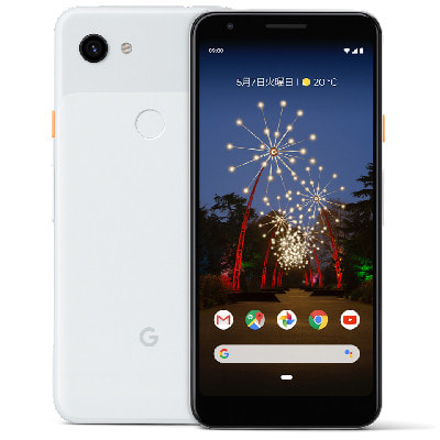 イオシス|【SIMロック解除済】SoftBank Google Pixel3a XL G020D 【Clearly White 64GB]