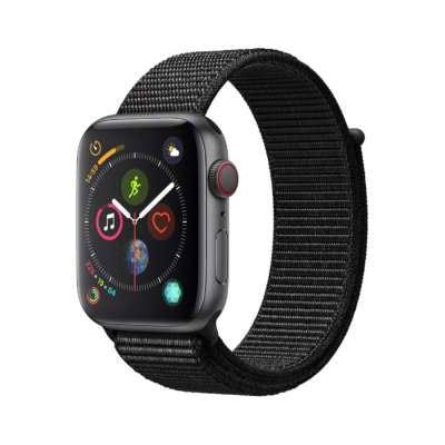 イオシス|Apple Watch Series4 GPS + Cellularモデル 44mm MTVV2J/A 【ブラックスポーツループ】