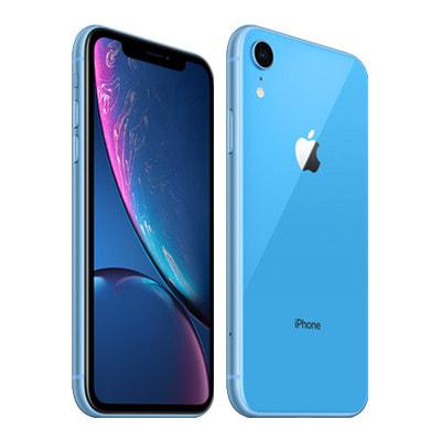 イオシス 【SIMロック解除済】【ネットワーク利用制限▲】docomo iPhoneXR A2106 (MT0E2J/A) 64GB  ブルー