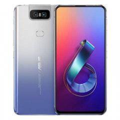 ASUS Zenfone6(2019) Dual-SIM ZS630KL-SL256S8 【8GB 256GB Silver 国内版 SIMフリー】