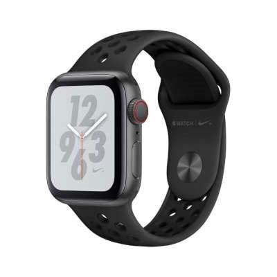 イオシス Apple Watch Nike+ Series4 GPS + Cellularモデル 40mm MTXG2J/A [ブラックNikeスポーツバンド]