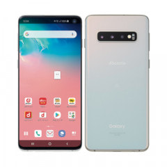【SIMロック解除済】docomo Galaxy S10 SC-03L プリズムホワイト