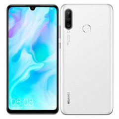 【ネットワーク利用制限▲】Y!mobile HUAWEI P30 lite MAR-LX2J Pearl White