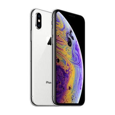 イオシス|【SIMロック解除済】docomo iPhoneXS A2098 (MTE12J/A) 256GB  シルバー