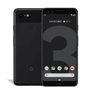 イオシス|【SIMロック解除済】Softbank Google Pixel3 G013B [Just Black 64GB]