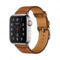 Apple Watch Hermes Series4 40mm GPS+Cellularモデル MU6Y2J/A A2007【ステンレススチールケース/シンプルトゥール ヴォー・バレニア(フォーヴ)レザーストラップ】