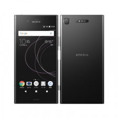 【SIMロック解除済】Softbank Xperia XZ1 701SO Black