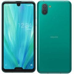 【SIMロック解除済】SoftBank AQUOS R3 808SH elegant green