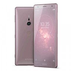 【SIMロック解除済】au Sony Xperia XZ2 SOV37 Ash Pink