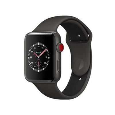 イオシス|Apple Watch Edition Series3 38mm GPS+Cellularモデル MQM42J/A A1889【グレイセラミックケース/グレイ ブラックスポーツバンド】