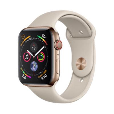 イオシス Apple Watch Series4 GPS + Cellular 44mm MTX42J/A 【ゴールドステンレススチールケース/ストーンスポーツバンド】
