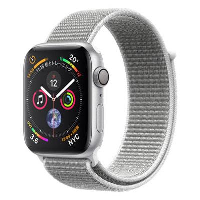 イオシス|Apple Watch Series4 GPSモデル 44mm MU6C2J/A 【シルバーアルミニウム/シーシェルスポーツループ】