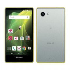 【SIMロック解除済】docomo AQUOS Compact SH-02H (Yellow×Silver)