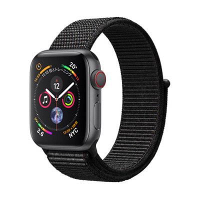 イオシス|Apple Watch Series4 GPS + Cellularモデル 40mm MTVF2J/A 【スペースグレイアルミニウム/ブラックスポーツループ】