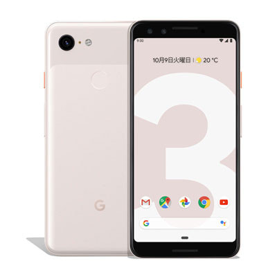 イオシス|【SIMロック解除済】Softbank Google Pixel3 G013B [Not Pink 64GB]