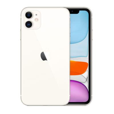 イオシス iPhone11 Dual-SIM 64GB ホワイト MWN12ZA/A A2223【香港版 SIMフリー】