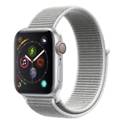 イオシス|Apple Watch Series4 GPS + Cellularモデル 40mm MTVC2J/A 【シルバーアルミニウム/シーシェルスポーツループ】