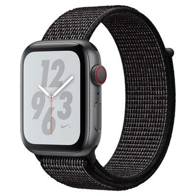イオシス|Apple Watch Nike+ Series4 GPS+Cellular 44mm MTXL2J/A[アンスラサイト/ブラックNikeスポーツループ]
