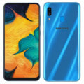 Galaxy A30 SCV43 ブルー 【UQmobile版 SIMFREE】