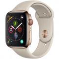 Apple Watch Series4 GPS + Cellular 44mm MTX42J/A 【ゴールドステンレススチールケース/ストーンスポーツバンド】