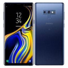 au Galaxy Note9 SCV40 Ocean Blue