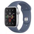 Apple Watch Series5 44mm GPSモデル MWT32J/A+MX0M2FE/A 【シルバーアルミニウムケース/アラスカンブルースポーツバンド】