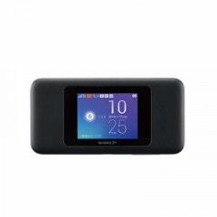 【au版】Speed Wi-Fi NEXT W06 HWD37MKA ブラック×ブルー