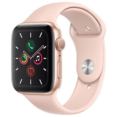 イオシス|Apple Watch Series5 44mm GPSモデル MWVE2J/A A2093【ゴールドアルミニウムケース/ピンクサンドスポーツバンド】
