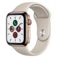 Apple Watch Series5 44mm GPS+Cellularモデル MWWH2J/A【ゴールドステンレススチールケース/ストーンスポーツバンド】