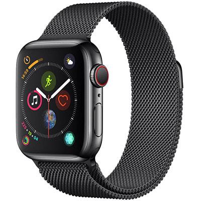 イオシス|Apple Watch Series4 GPS + Cellularモデル 40mm MTVM2J/A 【スペースブラックミラネーゼループ】