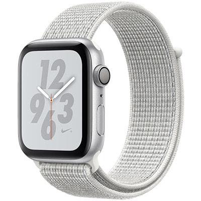 イオシス|Apple Watch Nike+ Series4 GPSモデル 44mm MU7H2J/A シルバーアルミニウム/サミットホワイトNikeスポーツループ