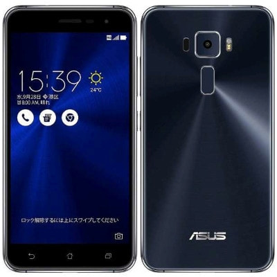 イオシス|ASUS ZenFone3 5.2 Dual SIM ZE520KL Sapphire Black 【32GB 楽天版 SIMフリー】