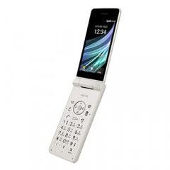 【SIMロック解除済】Y!mobile AQUOS ケータイ3 806SH ホワイト