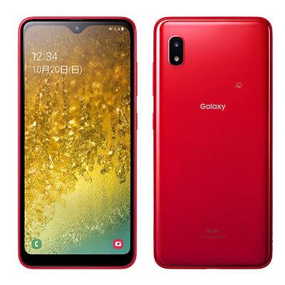 イオシス|【SIMロック解除済】au Galaxy A20 SCV46 レッド