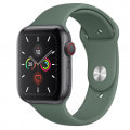 Apple Watch Series5 44mm GPS+Cellularモデル MWR12J/A【スペースグレイアルミニウムケース/パイングリーンスポーツバンド】