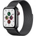 Apple Watch Series5 44mm GPS+Cellularモデル MWWL2J/A【スペースブラックステンレススチールケース/スペースブラックミラネーゼループ】