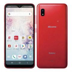 SAMSUNG 【SIMロック解除済】docomo Galaxy A20 SC-02M Red