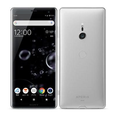 イオシス|【SIMロック解除済】au Xperia XZ3 SOV39 White Silver