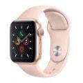 Apple Watch Series5 40mm GPSモデル MWV72J/A A2092【ゴールドアルミニウムケース/ピンクサンドスポーツバンド】