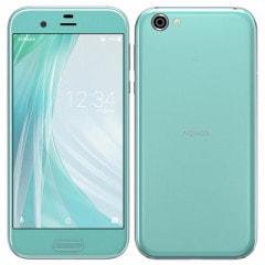 【SIMロック解除済】Softbank AQUOS R 605SH Opal Blue