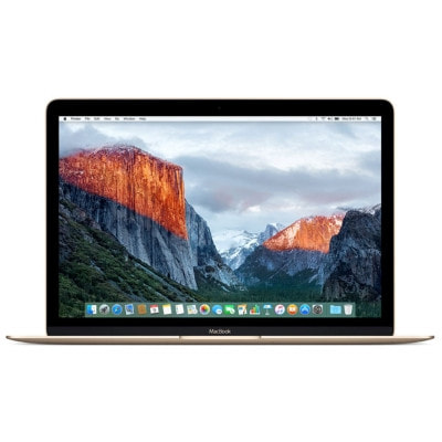 イオシス|MacBook 12インチ MK4M2JA/A Early 2015 ゴールド【Core M(1.3GHz)/8GB/256GB SSD】