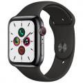 Apple Watch Series5 44mm GPS+Cellularモデル MWWK2J/A A2157【スペースブラックステンレススチールケース/ブラックスポーツバンド】