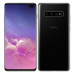 【SIMロック解除済】au Galaxy S10+ SCV42 プリズムホワイト