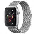 Apple Watch Series5 44mm GPSモデル MWT32J/A+MTU62FE/A【シルバーアルミニウムケース/ミラネーゼループ】