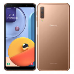 Samsung Galaxy A7 SM-A750C Gold 【楽天版 SIMフリー】