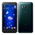 【SIMロック解除済】【ネットワーク利用制限▲】au HTC U11 HTV33 ブリリアント ブラック
