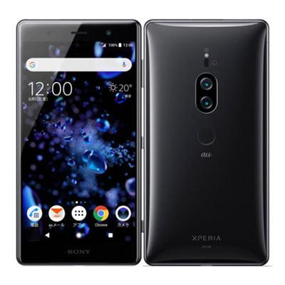 イオシス 【SIMロック解除済】【ネットワーク利用制限▲】au Sony Xperia XZ2 Premium SOV38 Chrome Black
